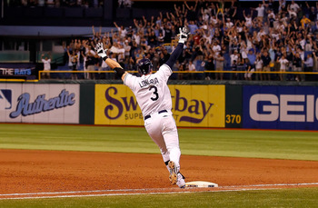 Evan Longoria's dramatic walk-off home run on the regular season's final night lifted Tampa into the playoffs