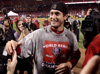David Freese was just one of the amazing stories provided by the St. Louis Cardinals in 2011.