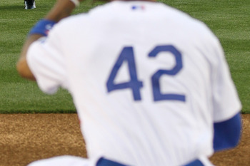 The No. 42 will never be worn by another Major League player...ever.