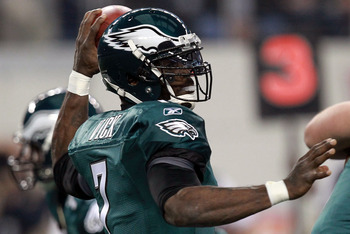 Vick is on the verge of joining former Eagle Randall Cunningham in a select club.