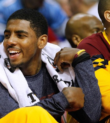 Kyrie has shown early flashes of potential.
