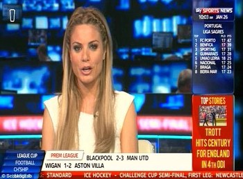 Sky has a dedicated Sky Sports News channel 24/7