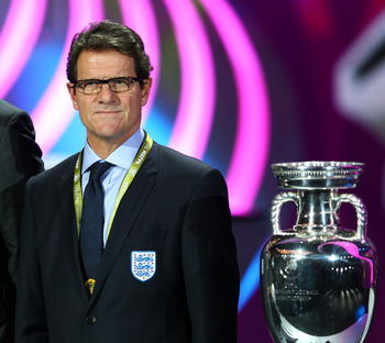 Who will Fabio Capello take with him to Poland and Ukraine for the European Championships?