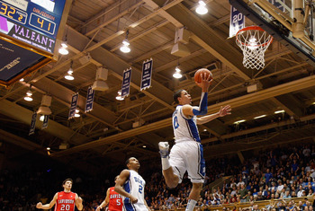 Some think frosh Austin Rivers will be flying to the NBA after a brief layover in Durham.