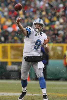 Will the Lions roar on the arm of Stafford?