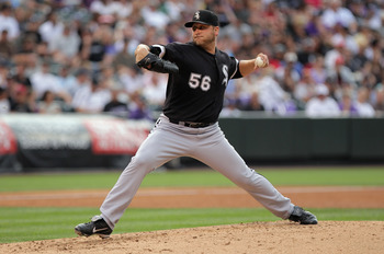 Newcomer Mark Buehrle will help to solidify the rotation.
