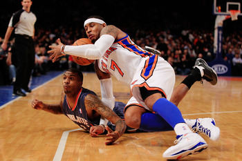 The Knicks really need Carmelo's all around game to come to the forefront