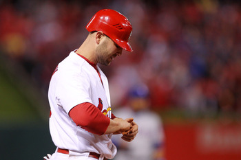 Holliday will feel more pressure to perform with the absence of Albert Pujols.