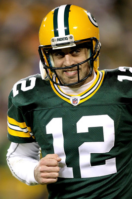 Aaron Rodgers should the No. 1 overall pick for your playoff fantasy league.