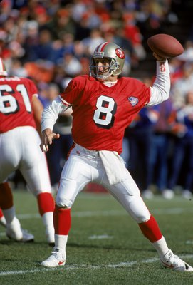 Steve Young led the 49ers to victory in Superbowl XXIX