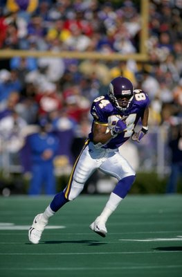Randy Moss set the NFL on fire in his rookie season