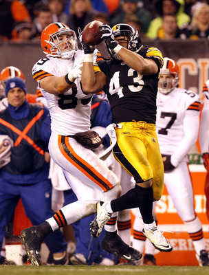 Troy Polamalu had two interceptions this season, his fewest since 2007.