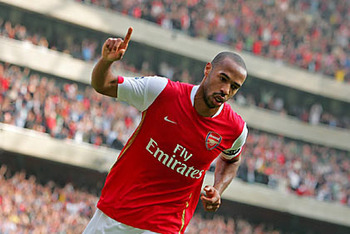 Not many people expected Thierry Henry to be back at The Emirates