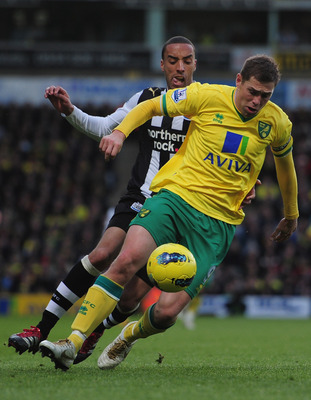 Holt in action v Newcastle