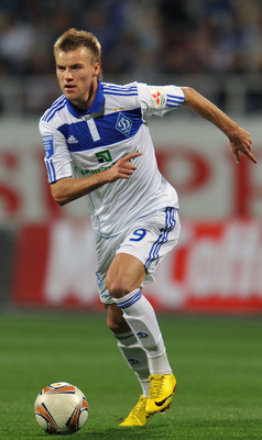Yarmolenko in action v Shakhtar