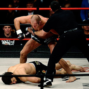 Arlovski was winning the fight against Fedor Emelianenko, but didn't use it as an excuse.