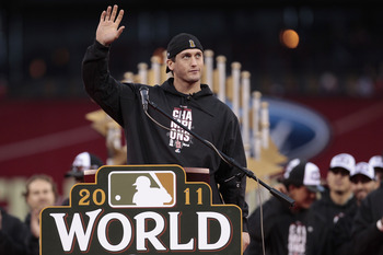 World Series MVP David Freese