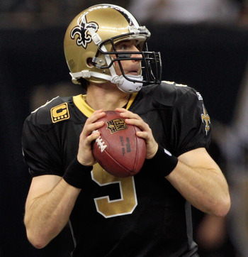 Brees and the Saints are an unstoppable force within their own dome.