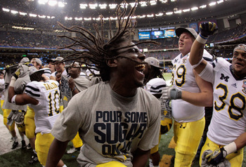 Denard Robinson may not have been at his best in the Sugar Bowl, but he gives Michigan the best chance to win games right now.