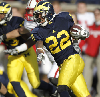 Fifth-year senior Darryl Stonum will likely be back in 2012 after off-field troubles in 2011 that forced head coach Brady Hoke to redshirt him.
