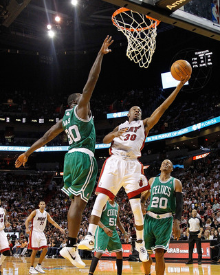 Miami's Norris Cole blew up in just his second NBA game, a 115-107 win over the Celtics.