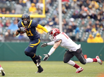 WR Keenan Allen is Cal's most electric receiver since DeSean Jackson