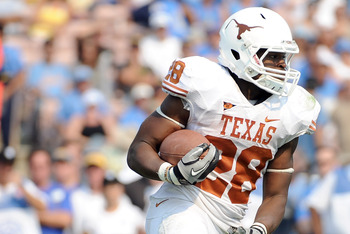 Malcolm Brown will should play a big part in an improved Texas offense next season