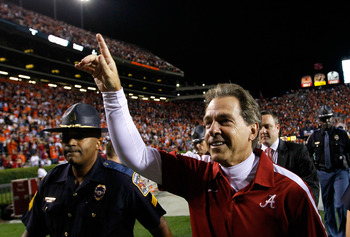 Despite losing several key starters, except Saban to have the Tide positioned in the Top 10 to begin 2012