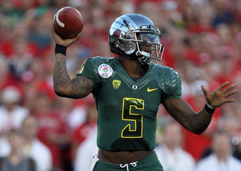 Darron Thomas and the Ducks will likely be in the national title race for the third straight season