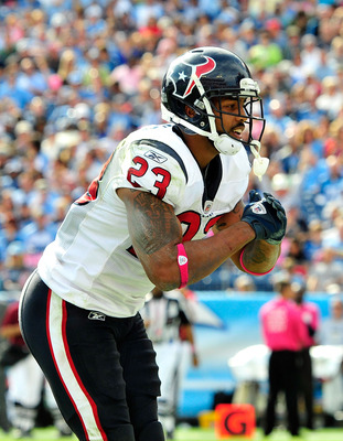 Expect to see Arian Foster's TD celebration on Saturday.