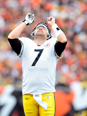 Big Ben might be invading Tebow's turf, but he'll come out on top.