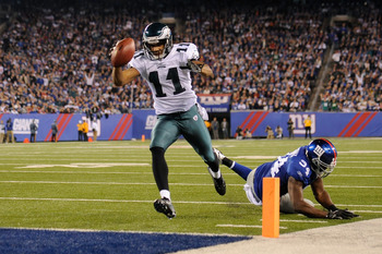 This looks like the only touchdown Smith will ever score for the Eagles.