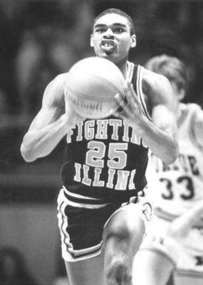 Bruce Douglas led the Illini to four consecutive NCAA tournament appearances
