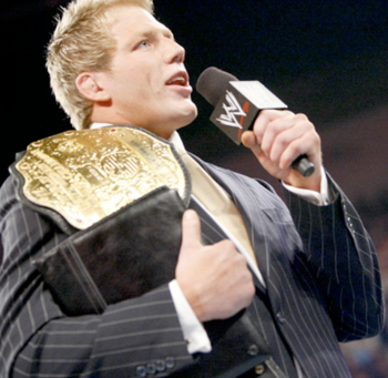 Jack Swagger from a time when the WWE cared about him.