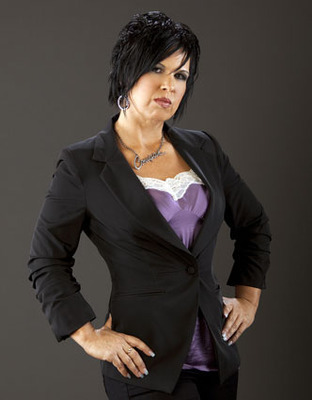 Alot of fun is made of Vickie's looks, but she sure has gotten in good shape.