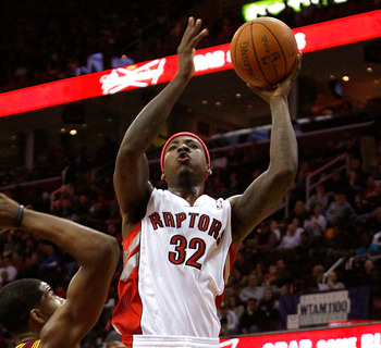 Ed Davis is getting consistent minutes off the bench for Toronto