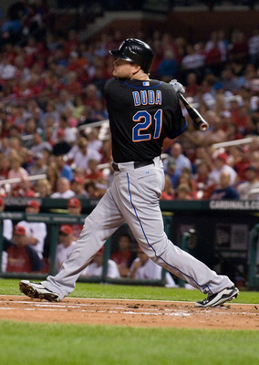 Duda emerged as a strong hitter in the heart of the order in 2011. Will he be better in 2012?