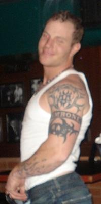 The 25 coolest tattoos in baseball bleacher report for Josh hamilton tattoo