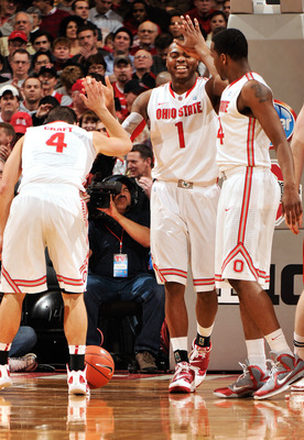 The Buckeyes should be high-fiving at the end of the regular season.