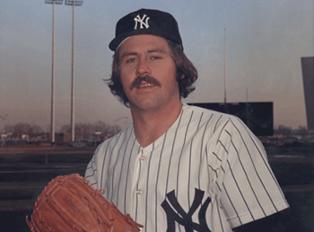 Catfish Hunter was a great player for both the Oakland A's and the New York Yankees.