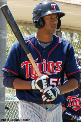 Aaron Hicks is one of the most talented prospects in the Twins organization, but his development has been a slow process.