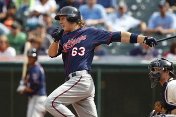 Joe Benson got a September call up with the Twins in 2011.