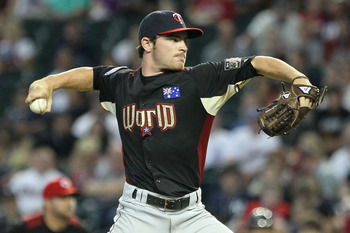 With Kyle Gibson injured, Liam Hendriks becomes the top pitching prospect in the Twins organization.