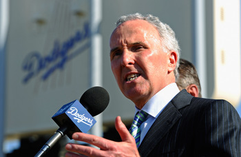 Los Angeles Dodgers owner, Frank McCourt