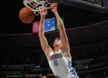 Gallinari's been great driving all year, he just needs to up his three-point shooting.