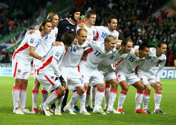 The Czech's World Cup side