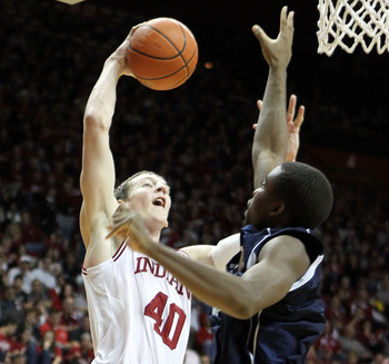 Freshman Cody Zeller has been the answer down low for Indiana.