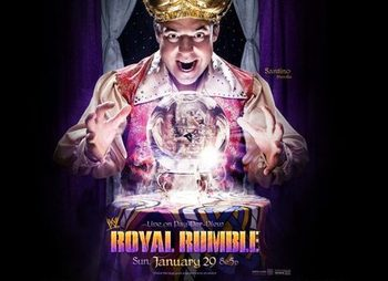 Source: http://www.cagesideseats.com/2011/12/19/2647768/wwe-royal-rumble-2012-poster-feautring-santino-marella