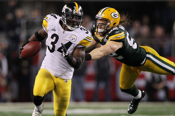 Rashard Mendenhall played well in Super Bowl XLV -- until his fumble.