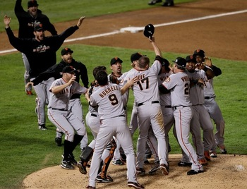 The Giants Win The 2010 World Series
